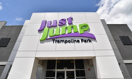 2 Jump Passes, or Birthday Party for 10 at Just Jump Trampoline Park - Johnson City (Up to 36% Off)