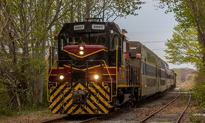 Cape Cod Central Railroad: Scenic Cape Cod Tour for Two or Four from Cape Cod Central Railroad (Up to 36% Off). Two Options Available.