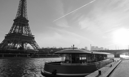 1 ou 2 billets enfant(s) et/ou adulte(s) pour croisière-promenade Notre-Dame>Tour Eiffel 40min dès 4,50€ avec L'insolite