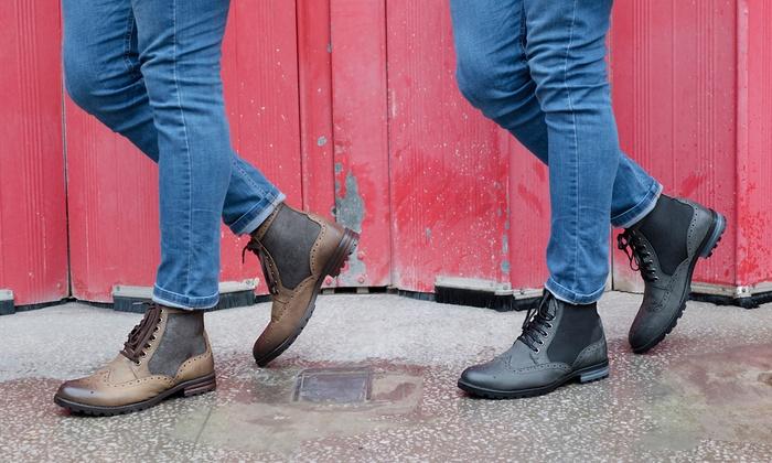 Bis zu 73% Rabatt Redfoot Leder Boots für Herren | Groupon