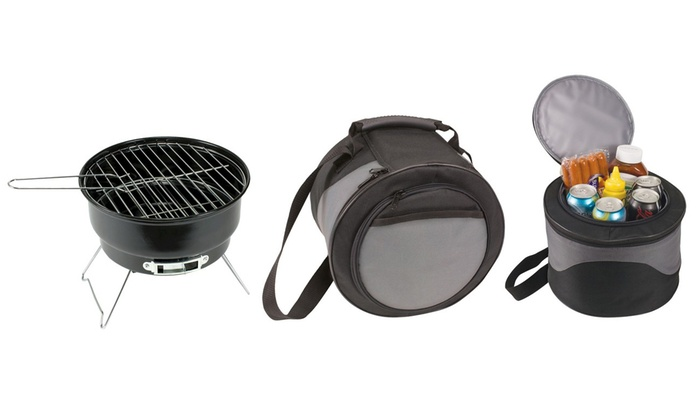 Up To 44% Off on Portable Grill and Cooler Bag | Groupon Goods