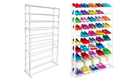 Mueble zapatero para 50 pares de zapatos