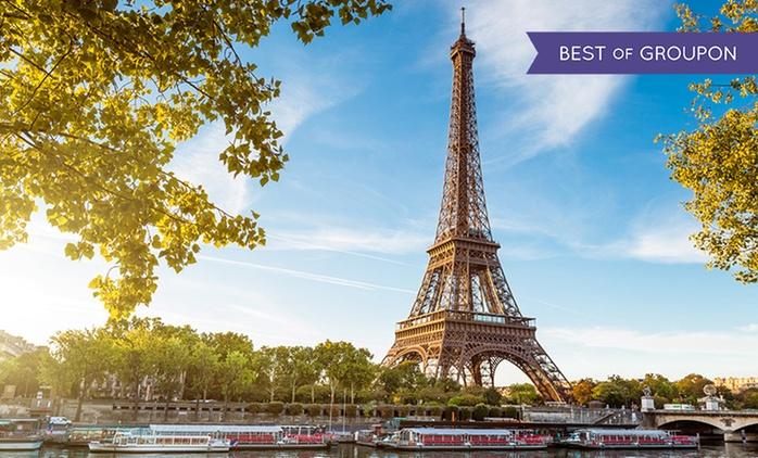Paris : 1, 2 ou 3 nuits avec petit-déjeuner, croisière en option à l'hôtel Délos Vaugirard pour 2 ou 4 personnes