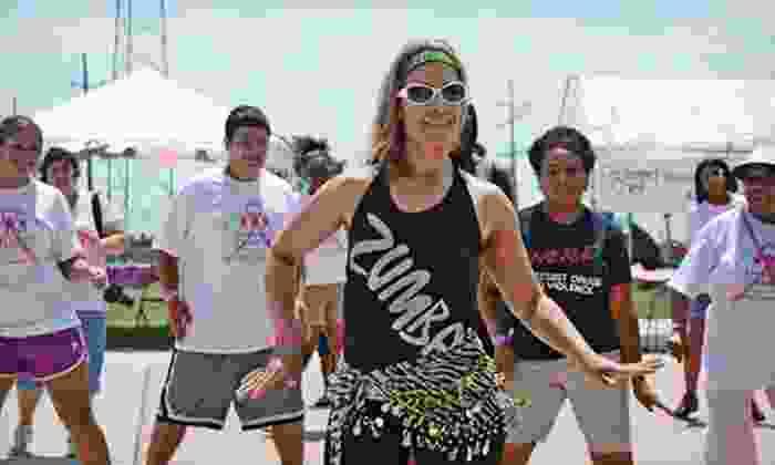 Mari's Zumba Fitness - Multiple Locations: 10 or 20 Zumba Fitness Classes at Mari's Zumba Fitness (Up to 68% Off)