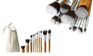 Bamboo Makeup Brush Set (10-Piece) at Bamboo Makeup Brush Set (10-Piece), plus 6.0% Cash Back from Ebates.