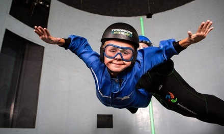Two Indoor Skydiving Experiences for One or One Experience for Two at Twinwoods Adventure