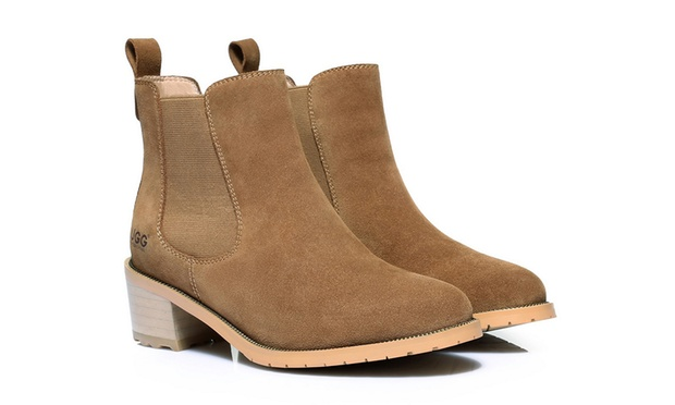 Ever Womens Genuine Leather UGG Boots: Sylvia ($79), Melody ($119) or Sarah ($129) (Dont Pay Up to $400)