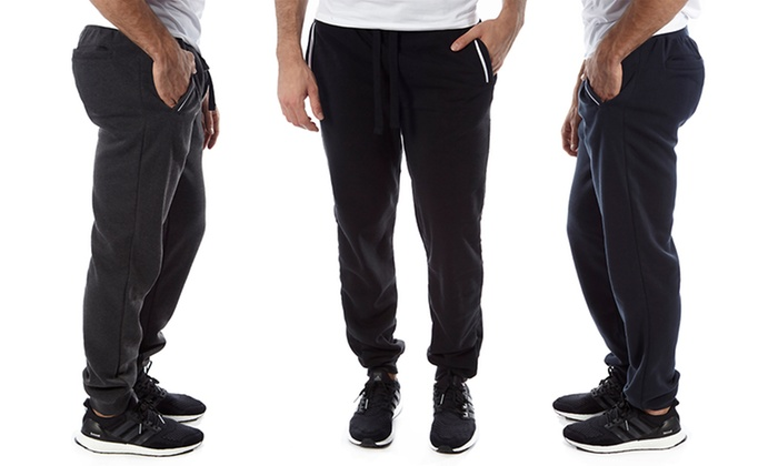Vertical Sport Men's Slim-Fit Fleece Jogger Pants