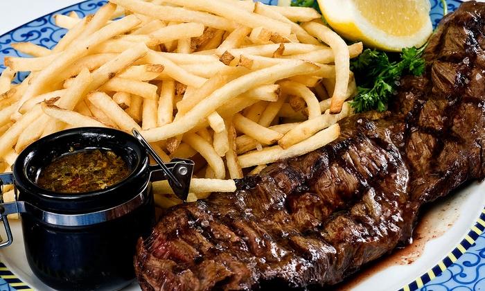 True Lies Bar and Grill - El Dorado: Dinner for Two or Four at True Lies Bar and Grill (Up to 50% Off)
