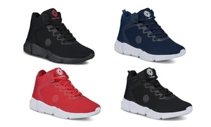 Akademiks Men's Master Style High Top Fashion Sneakers