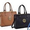 MMK Collection Women's Satchel Handbag