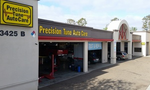 Up to 82% Off Oil-Change Package at Precision Tune Auto Care  at Precision Tune Auto Care San Diego, plus 6.0% Cash Back from Ebates.