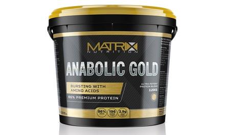Matrix Anabolic Goldeiwitpoeder