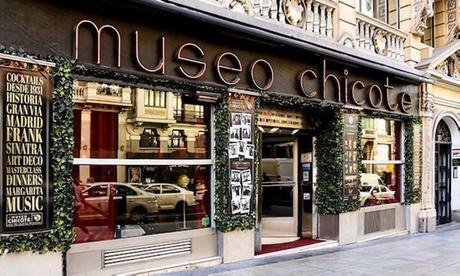2 o 4 cócteles en Museo Chicote 37% de descuento