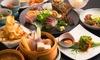 福岡/清川 ≪肉・魚料理など大将厳選6品コース+飲み放題120分≫