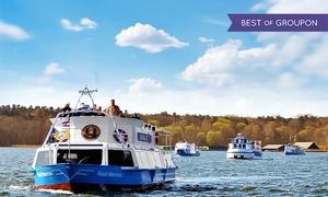 Blau Weisse Flotte: 5-Seen-Rundfahrt ab Malchow oder 7-Seen-Fahrt ab Waren/Müritz für Zwei mit Blau Weisse Flotte (bis zu 54% sparen*)
