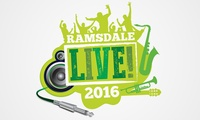 Tickets for One, Two or Four to Ramsdale Live, 1 - 2 July at Ramsdale Park (Up to 73% Off)