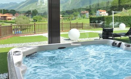 Asturias: habitación doble para 2 personas con spa, desayuno buffet y detalle de bienvenida en Hotel La Piconera 4*