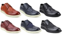 Deals on Xray Men's Casual Dress Wingtip Shoes