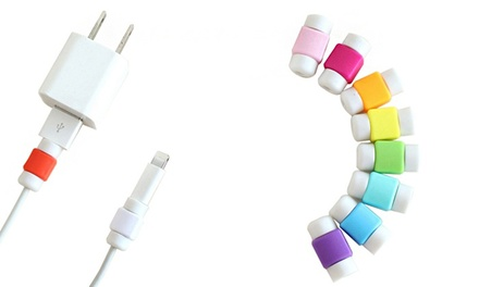 Lightning Cable Protectors: 6  ($8.95) or 12 Pack ($11.95)