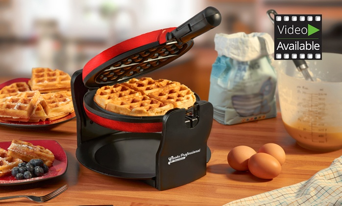 Cooks Professional Luxury Rotary Waffle Maker for £24.98 (64% Off)