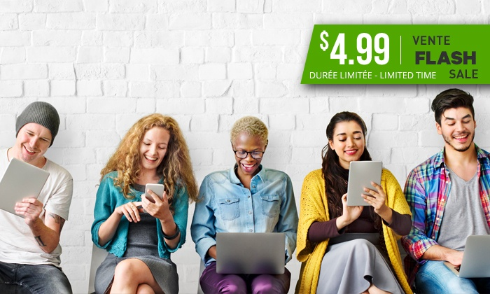 Flash Sale: $4.99 for an Online Class of Your Choice from a Selection by Shaw Academy ($395 Value)