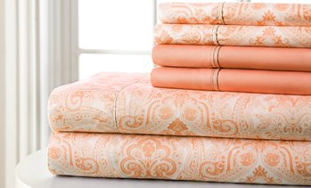 Hotel 5th Avenue Lux Paisley Sheet Set (4 or 6 Piece)