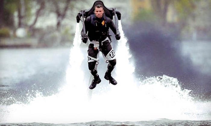 Fantasy Fun Flight - Multiple Locations: 30-Minute Water Jetpack Flight for One or Two from Fantasy Fun Flight in Gambrills (Up to 51% Off)
