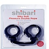 Shibari Silky Soft Double Rope Wrist Cuffs
