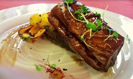 Menú degustación para dos personas con 10 platos, postre y botella de vino por 39,95 € en Torreblanca