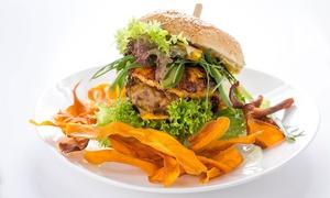 Family And Business Bistro: Burger wołowy za 14,99 zł i więcej opcji wFamily & Business Bistro w Gdańsku (do -43%)