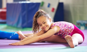 Excel Gymnastics: 5 or 10 Open Gym Sessions for Kids at Excel Gymnastics (Up to 65% Off)