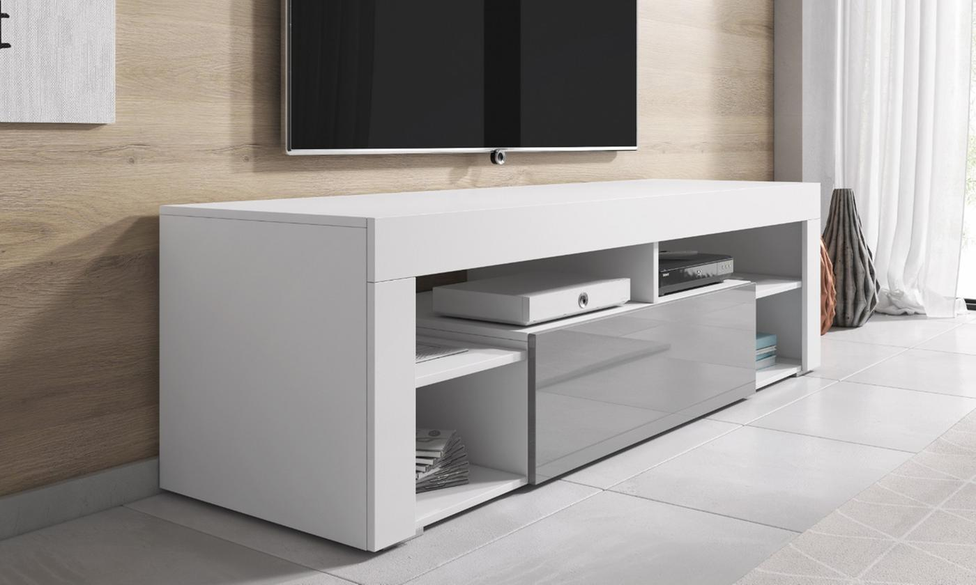 e-Com TV Unit Titan with Optional LED Light