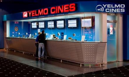 Entrada a Yelmo Cines con opción a menú de palomitas y bebida desde 5 €