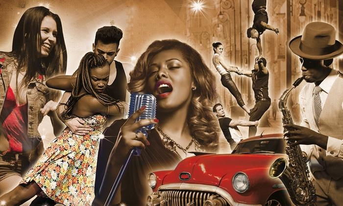 """Highlight Concerts - Mehrere Standorte: 2 Tickets """"Havana Nights - Die magische Show!"""" im März in Berlin, Hamburg, Bremen, Kiel oder Lübeck (bis zu 38% sparen)"""