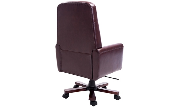 chaise de bureau chesterfield groupon. Black Bedroom Furniture Sets. Home Design Ideas