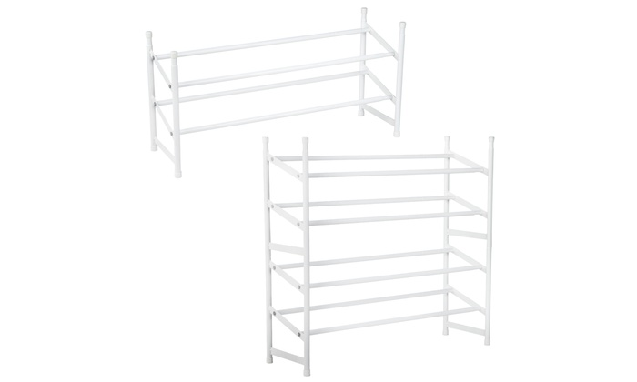 schuhregal aus metall groupon goods. Black Bedroom Furniture Sets. Home Design Ideas