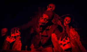 Up to 33% Off Halloween Admission to Haunted Hunt Club Farm at Hunt Club Farm, plus 6.0% Cash Back from Ebates.