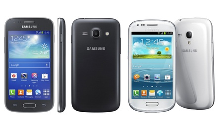 Refurbished Samsung Galaxy Ace 4, Galaxy J5 or Galaxy S3 Mini, Unlocked With Free Delivery