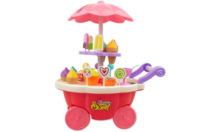 SOKA 36Piece Kids Ice Cream Trolley