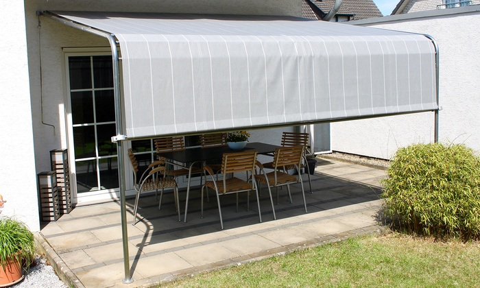 Terrassenuberdachung Komfort Groupon