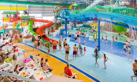 Entry to Aqua Park for One Adult or a Family of Four at Water World