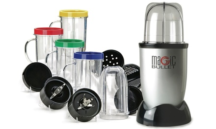 One or Two Magic Bullet 17 Piece Sets from AED 210