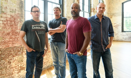 Hootie & The Blowfish: Group Therapy Tour with special guest Barenaked Ladies on Saturday, August 24, at 7:30 p.m.