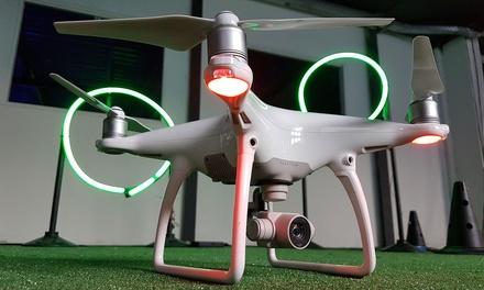 Une heure de pilotage de drone pour 1, 2 ou 4 personnes dès 14,90 € avec Droneez