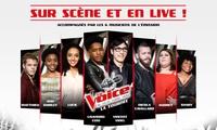 """1 place pour la tournée """"The Voice"""", catégorie au choix, le 15 juillet 2017 à 20h, dès 17,50 € au Dôme de Marseille"""