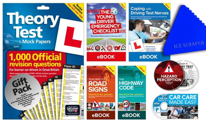 The Learner Driver Gift Pack: Theory Test Papers and Driving Test PC/DVD's for 2018 Success for £7.99
