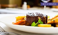 Steak Meal and Two Glasses of Wine for Two or Four at DoubleTree Hilton Liverpool