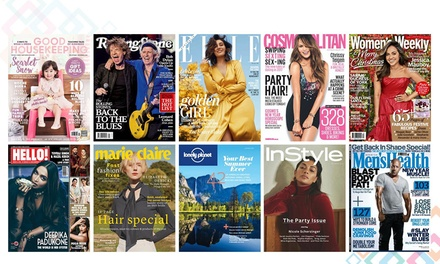 OnlineSubscription to Over 4,000 Magzines and Articles Six $35 or 12 Months $59 at Magzter Up to $79.99 Value