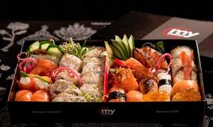 My Sushi: Desde $279 por 30 o 60 piezas de sushi + harumakis en My Sushi